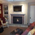 White Pine Suite - another shot of fireplace