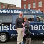 Tim (duty driver/educator) of Historic Nerds tour (take it!!)