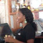 Bartender-great lady.