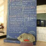 Frozen drink menu