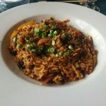 Special of the day: Beef over rice with veggies