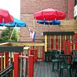 back deck of Cantina