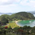 view from viewpoint Roberton island