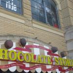 Chocolate Store, San Francisco, Ca