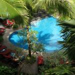 Lovely Lighting - Pool View from Room's Balcony