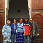 The staff & us