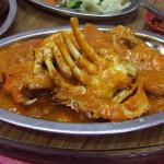Crab with Indonesian's Padang Sauce