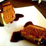 Foie-gras con pan de especias y reducción de Oporto