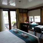 Ma très confortable cabine