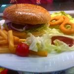 Mega Cheese Burger