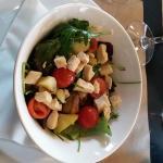 Salade jeunes pouces et poulet