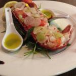 Lobster Catalan Style for Valentine's Weekend