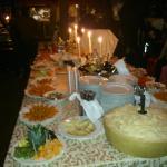 the buffet