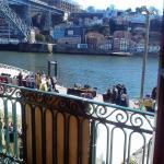 Vista desde el balcón del piso supeiror