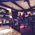 Inside the restaurant, lovely traditional warm feel