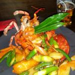 Sezchuan Lobster Plate