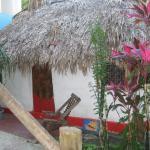 Casa Alux, the original building on the property, Mayan Casita, 1 open round room.