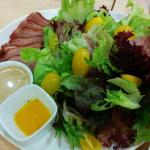 Wonderful duck salad