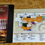 The map of the dover downs hotel and Casino