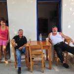 Stavros e Marianna dopo la colazione