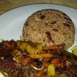 MY First brown stew fish at Dream Castle restaurant & Lounge