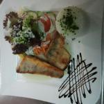 Zander mit Weißweinsauce