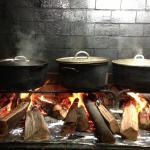 Cuisine créole au feu de bois