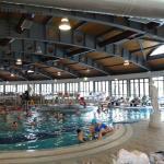 1 (delle due) piscine interne calde
