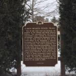 Historical Marker in Kendall, Wisconsin.