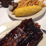 Ribs with corn & mash potatoes