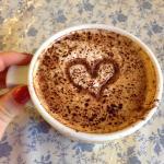 My Valentine's Cappuccino!