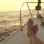 This ocean air is great for my bunions!