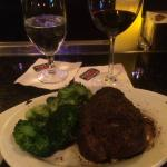 Filet and Broccoli at Ruth's Chris