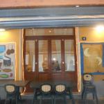 esterno dal lato vicolo del ristorante