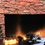 patio fire place