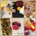 Resumen de algunos platos de la comida