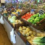 our range of fresh fruit and vegetables constantly change to reflect the seasons and what is bes