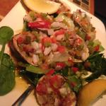 Clams Casino Dinner Appetizer
