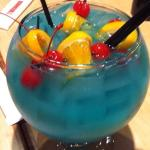 The fish bowl drink
