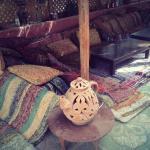 Bedouin lounging area near the pool bar :)