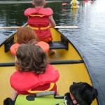 Lots of lifejackets, canoes, kayaks for use! (bring your own dog jacket!)
