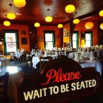 wait to be seated