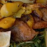 pesce persico con patate