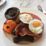 A Manna Full English - yum!