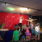 Bubble Trouble show for the little ones.