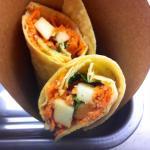 Wrap Carotte / Pomme / Gomasio / Salade (Vegan)