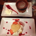 Valentines dessert.