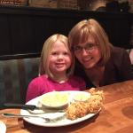 Birthday Dinner at Cheddars