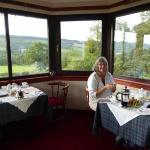 View of Loch Ness from the breakfast room