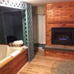 Fireplace/Jacuzzi
